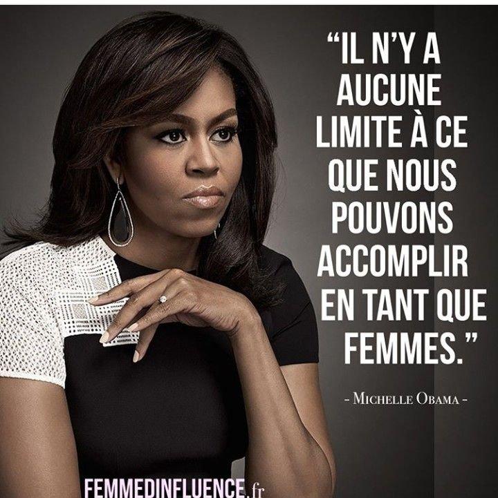 pensées positives Michelle Obama