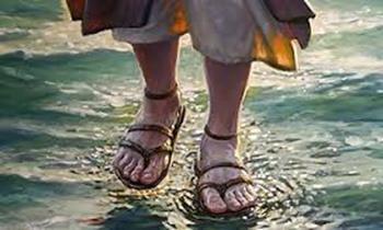 traitement, marcher sur l'eau